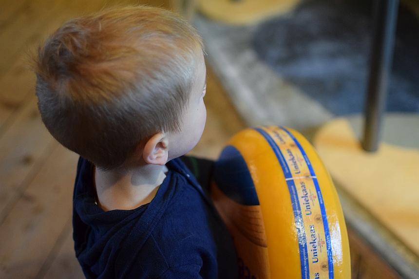Gouda met kinderen: kaasmuseum Goudse Waag