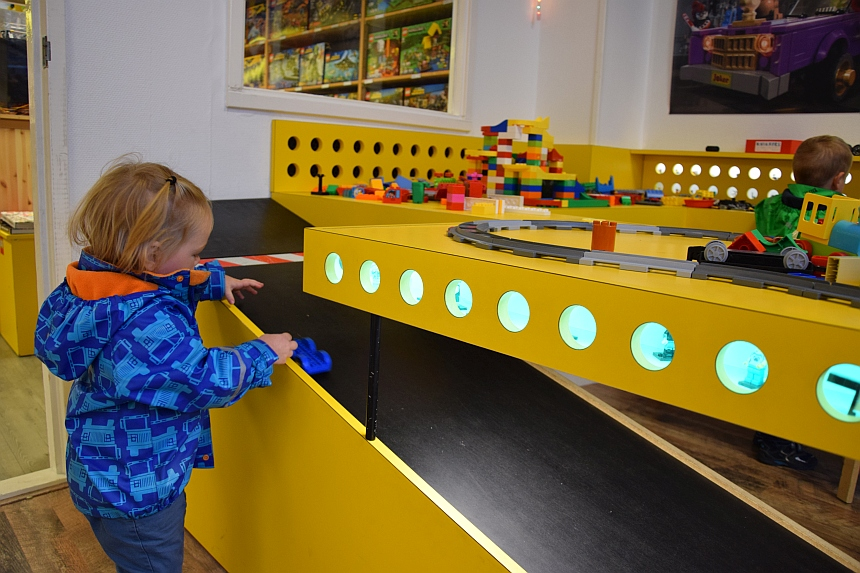 Spelen in de PlayToday LEGO Shop Gouda