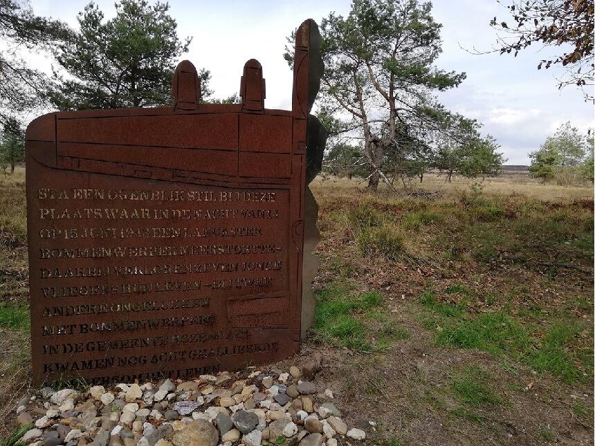 Monument op de Veluwezoom