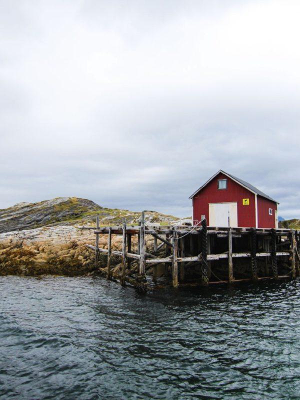 Eiland in Noord-Noorwegen
