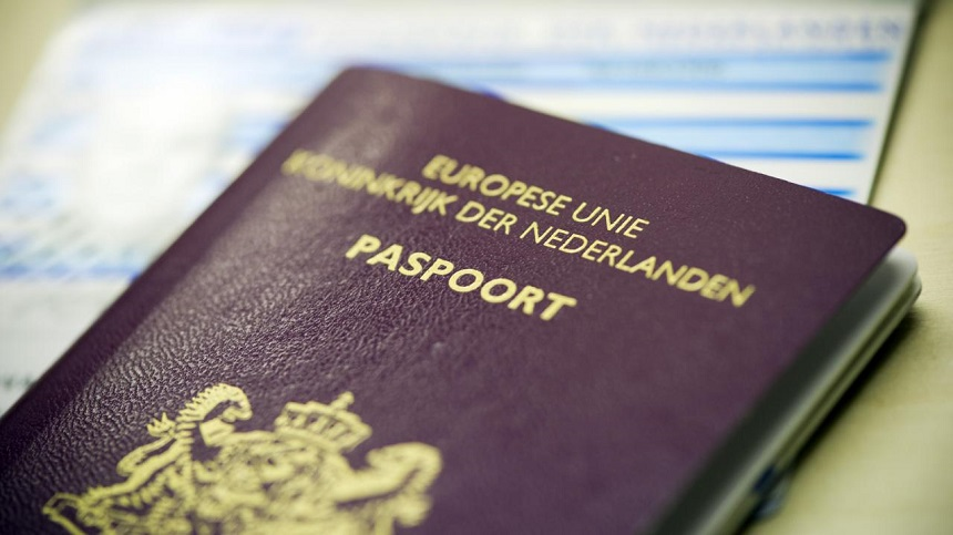 Paspoort geldig voor visum Turkije