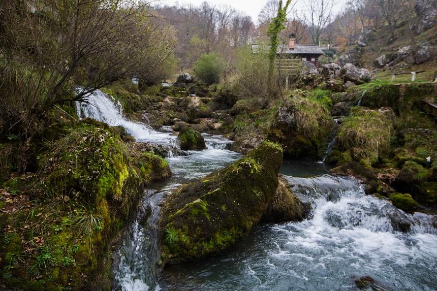 De Krupa bij de Vrbas rivier in Banja Luka