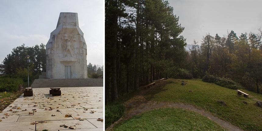 Het monument op Banj Brdo in Banja Luka ter herinnering aan de Krajina soldaten