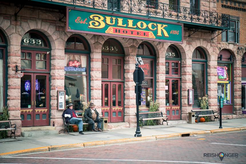 Het Bullock Hotel is vernoemd naar sheriff Seth Bullock die de orde in Deadwood moest handhaven