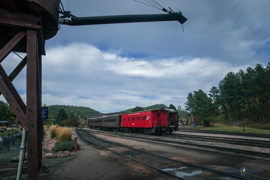 Het spoorweg museum in Hill City geeft een leuke inkijk in het verleden