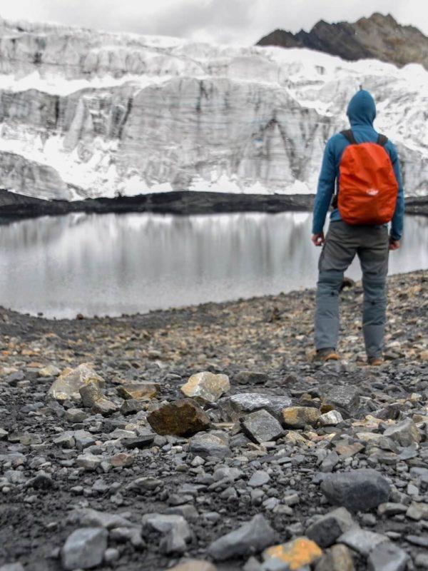 Glacier Pastoruri in Peru