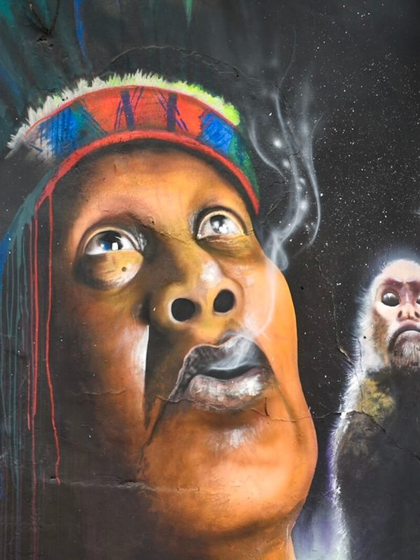 Graffitikunst in Bogota