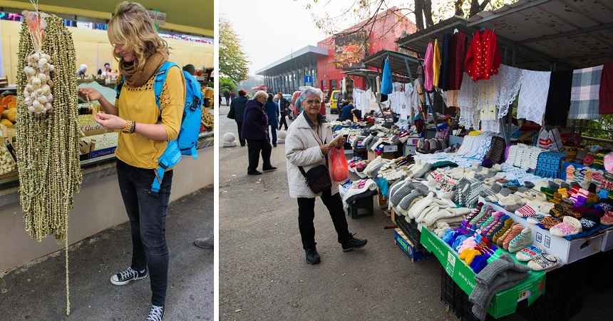 Weekmarkt in Banja Luka