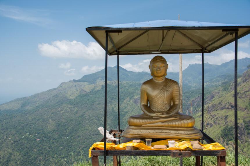 Little Adam's Peak in Sri Lanka