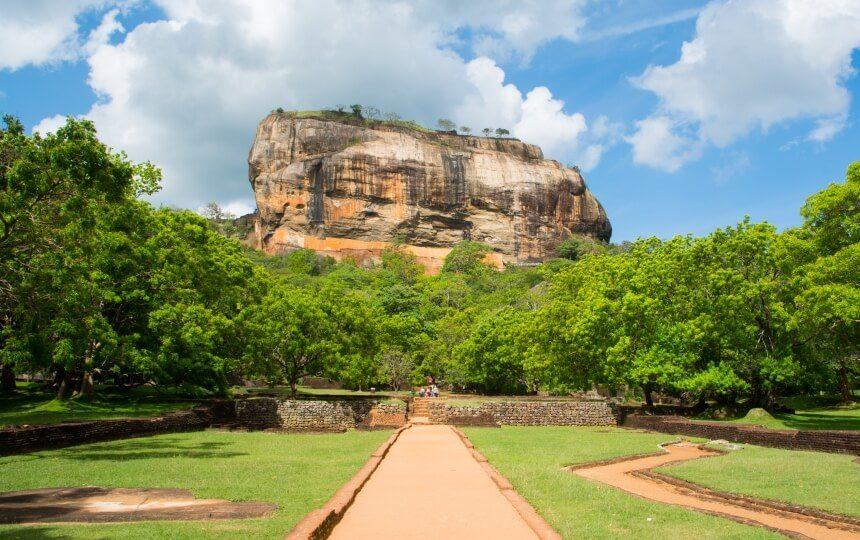 De Sigiriya in Sri Lanka