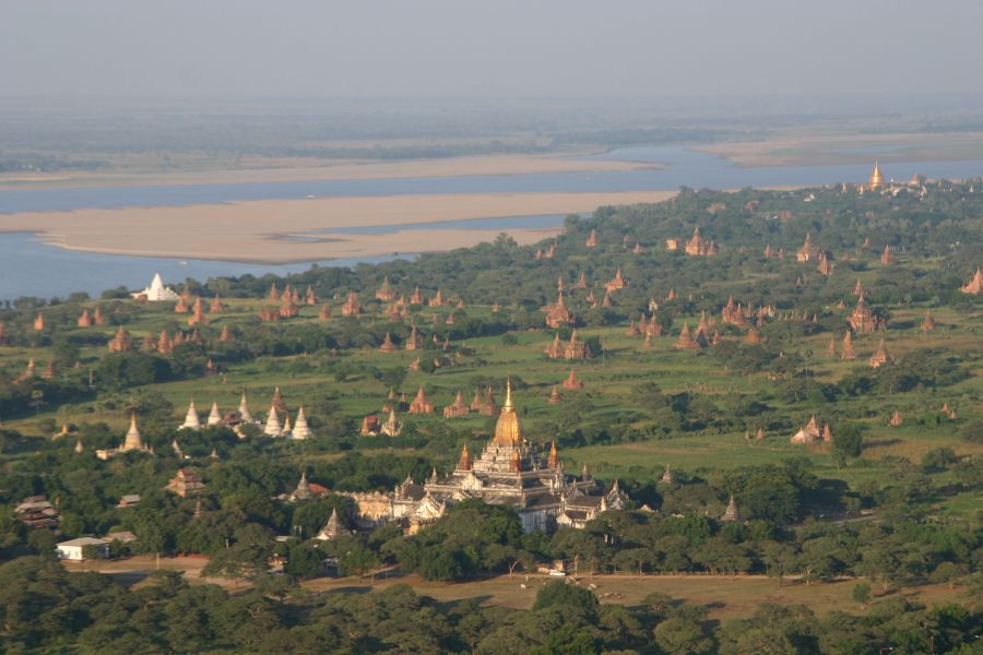 Myanmar in Bagan