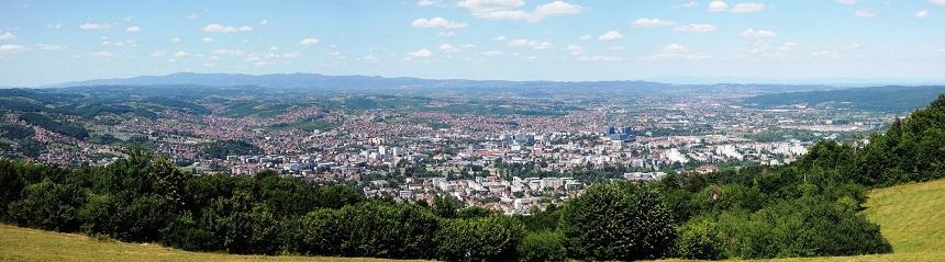 Banja Luka in Bosnië Herzegovina