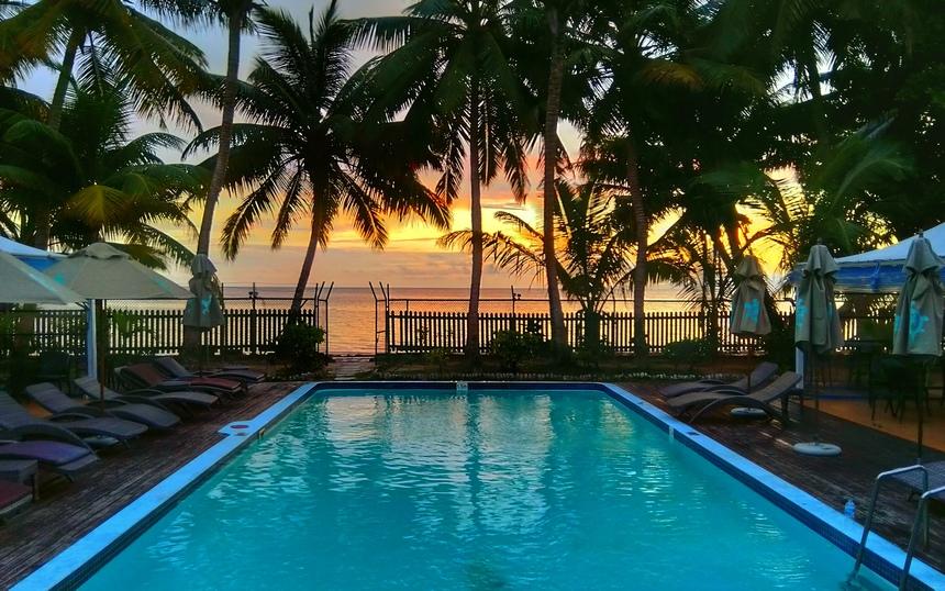 Le Relax Hotel op het eiland Praslin.