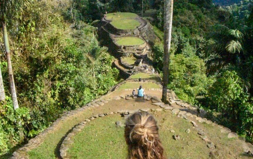 Jungletrail naar Ciudad Perdida in Colombia