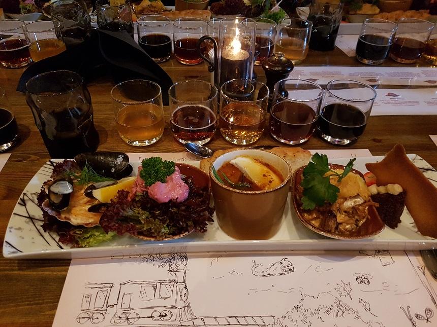 Eten als een Viking in Noorwegen