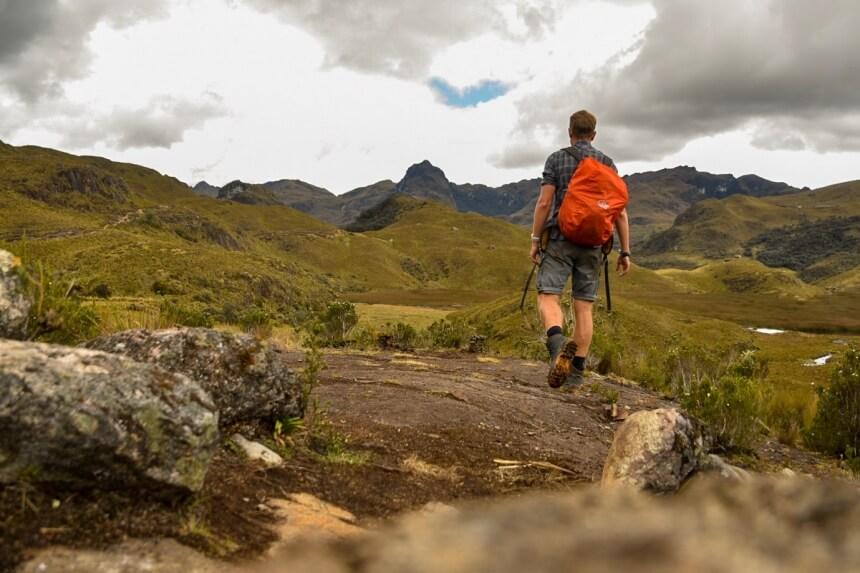 Wandelen in Ecuador