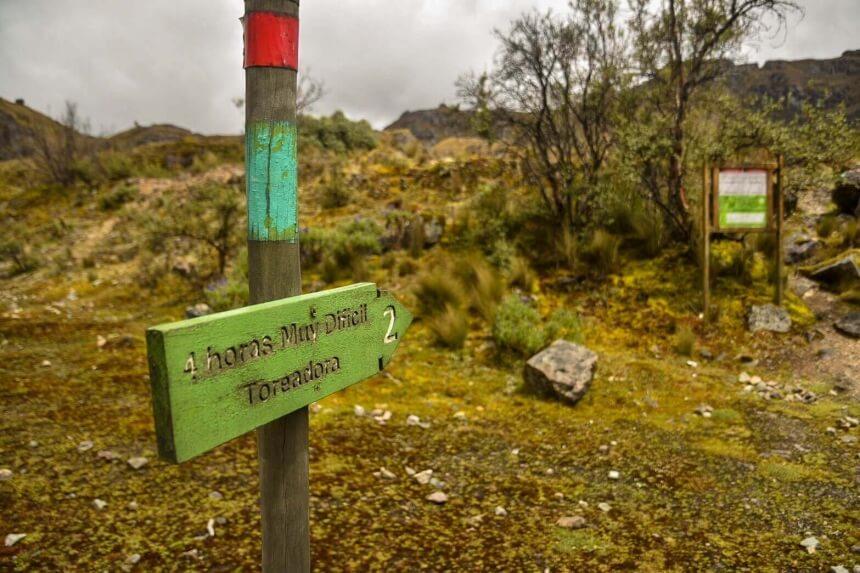 Wandelroute El Cajas in Ecuador