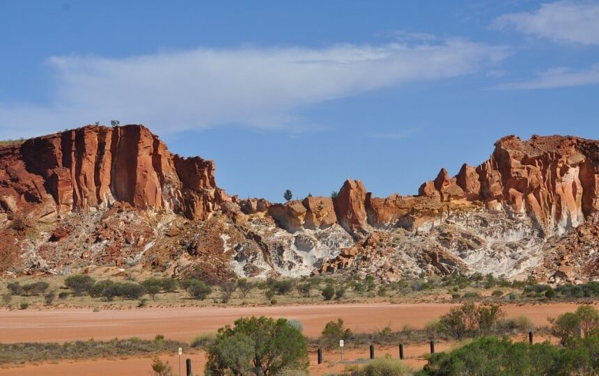 Alice Springs in Australie