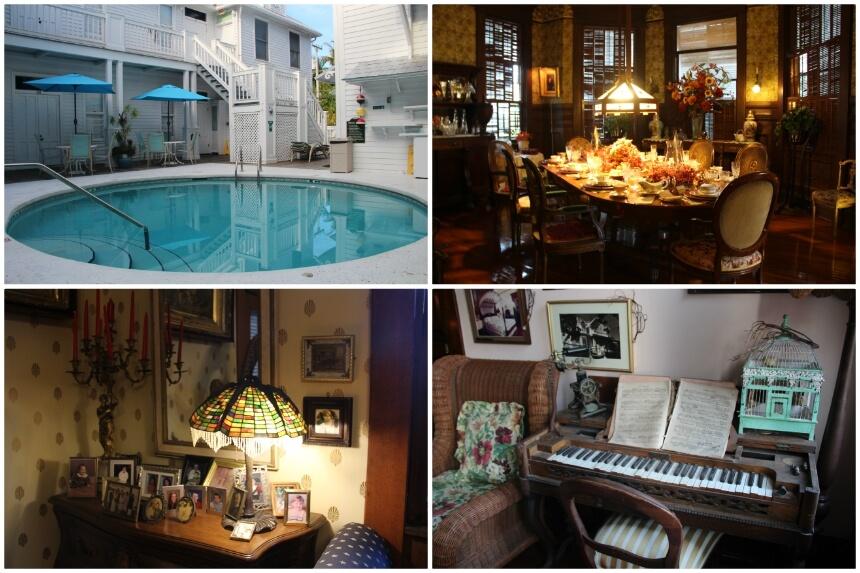 Een highlight van mijn bezoek aan Key West was het verblijf in het historische Curry Mansion Inn