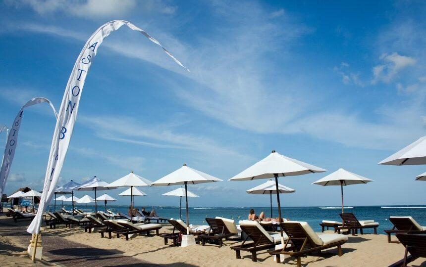Benoa Beach in Indonesië
