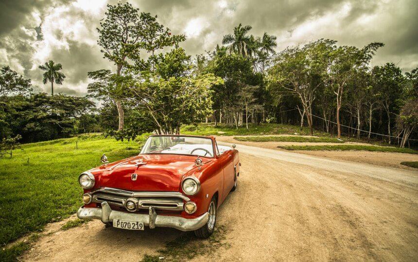 Oldtimer op Cuba