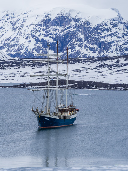De Antigua bij Spitsbergen