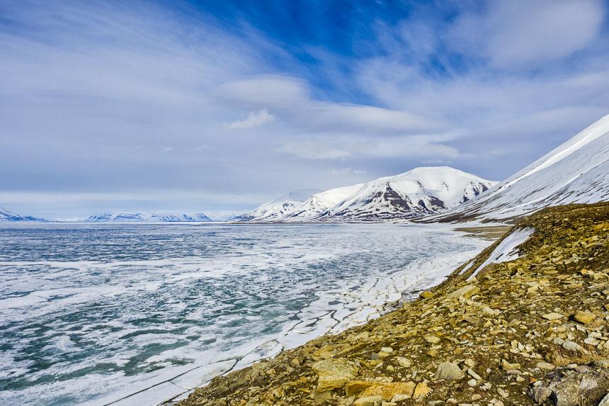 Spitsbergen - De Mijenfjorden bij Collinderodden