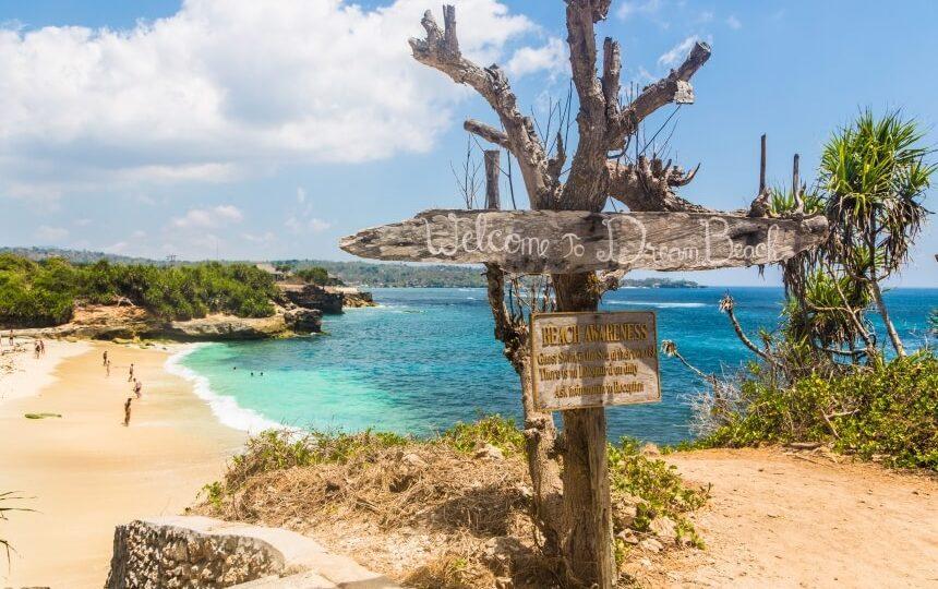 Dream Beach op Bali