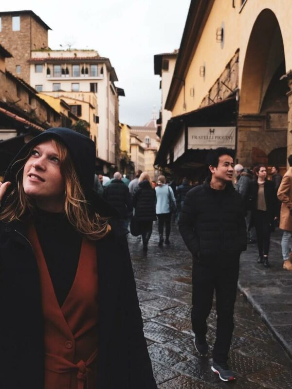 Dwalen door de straten van Florence