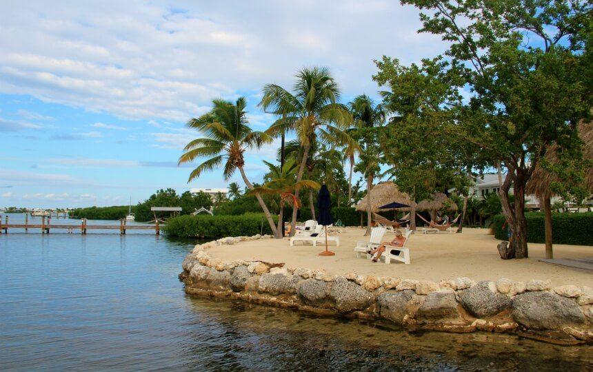 In de Upper Keys heb je ruime keuze uit hotels aan het water