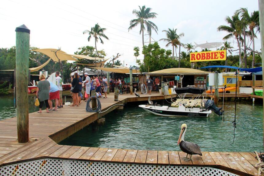 Robbie's Marina: een must-stop tijdens je rit over de Overseas Highway
