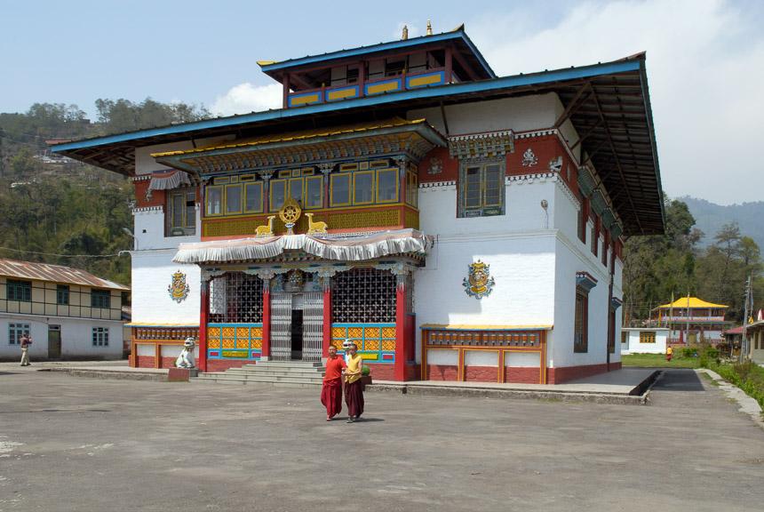Het Phodang klooster in Sikkim