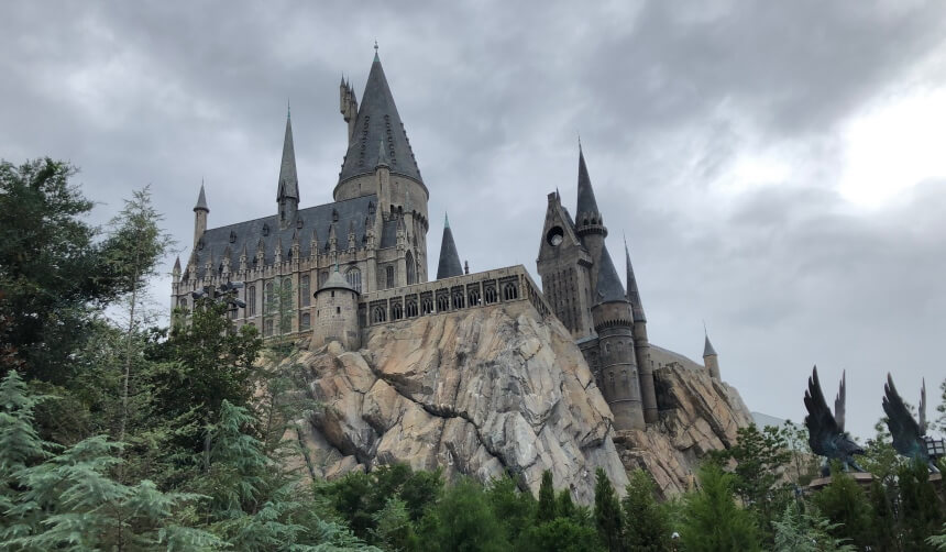 Harry Potter and the Forbidden Journey in Hogwarts in Universal Orlando