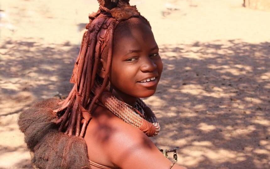 Himba in Namibië