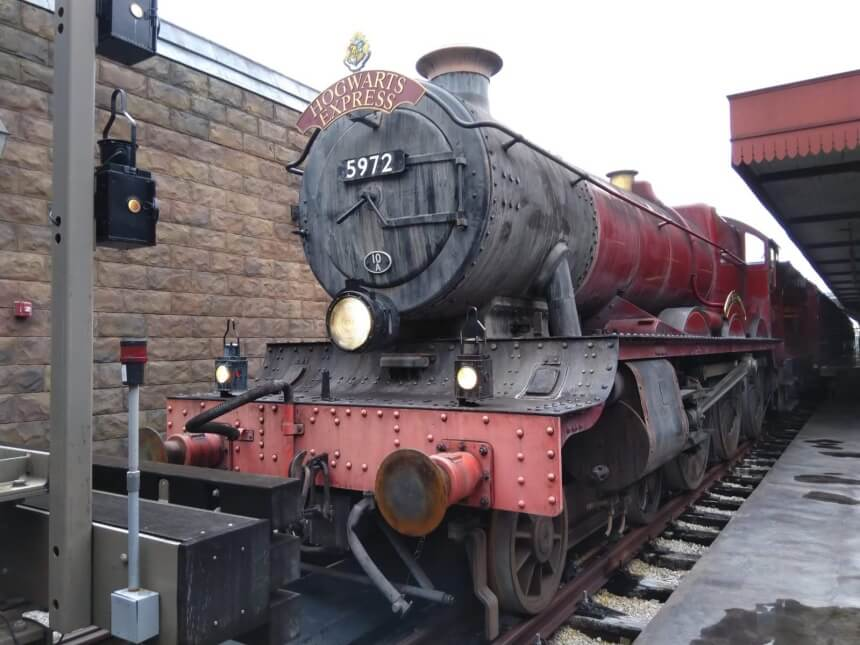 De Hogwarts Express in Universal in Florida