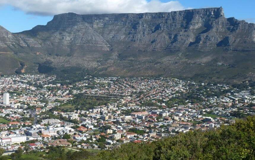 De Tafelberg in Kaapstad