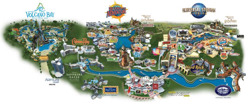 Kaartje Universal Orlando Resort