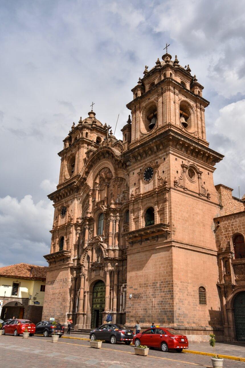 Katholieke kerk in het centrum van Cusco