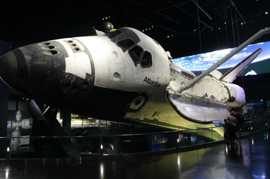 Heel interessant: het Kennedy Space Center