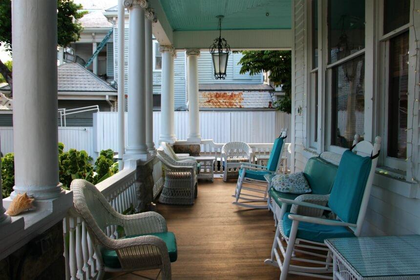 Hoteltip Key West: Curry Mansion Inn ligt middenin het centrum, op loopafstand van Duval Street