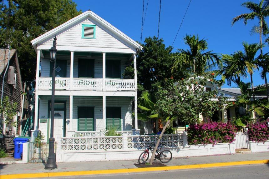 Key West heeft prachtige historische huizen