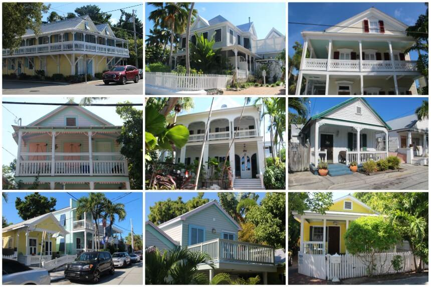 Geweldig om te zien: de stijlvolle architectuur in het oude centrum van Key West