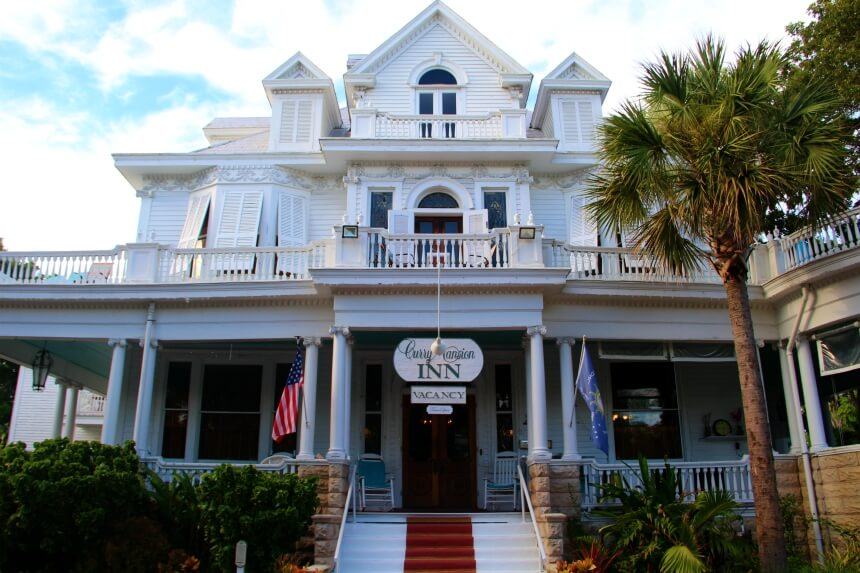 Hoteltip Key West: Amsterdam's Curry Mansion Inn