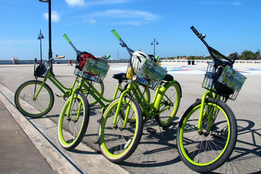 Aanrader in Key West: een fietstocht met Key Lime Bike tours