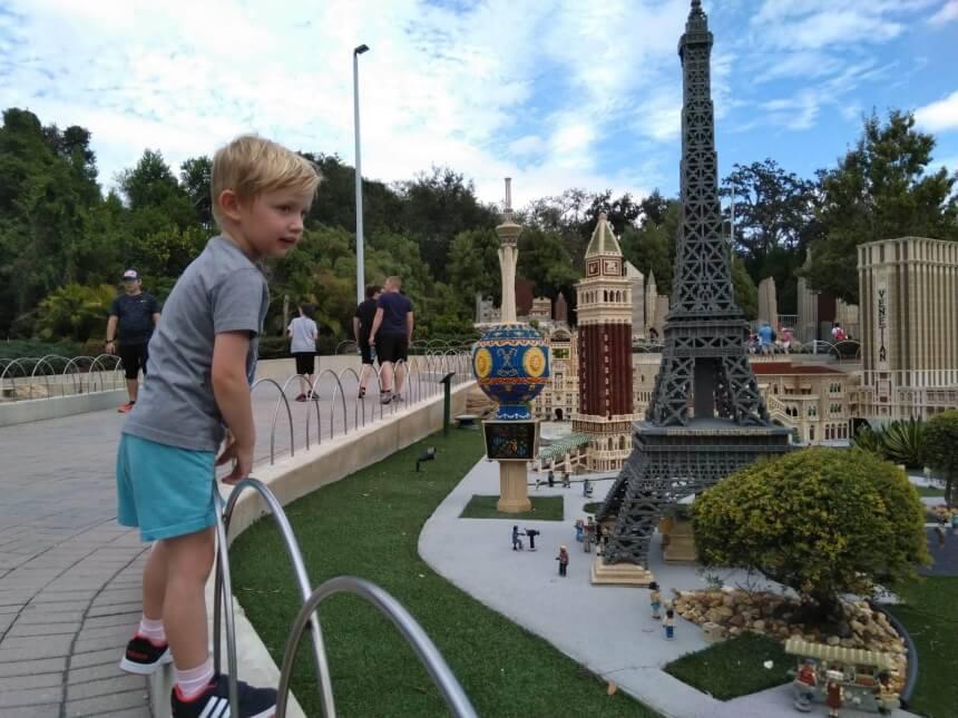 Miniland in Legoland Orlando