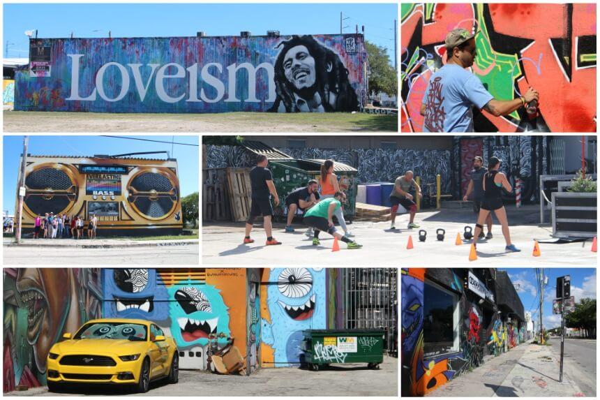 Impressie van Wynwood, de meest kleurrijke buurt van Miami