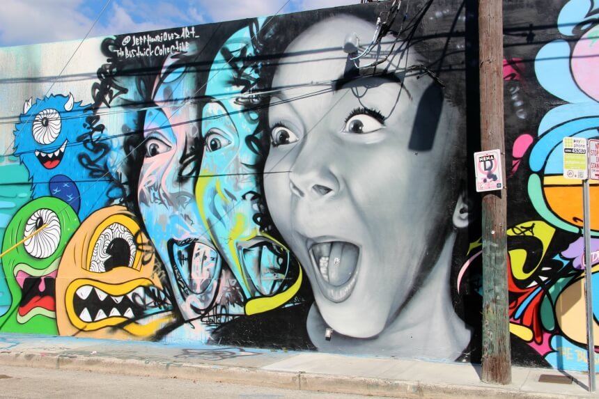 Absolute aanrader in Miami: street art tour in Wynwood