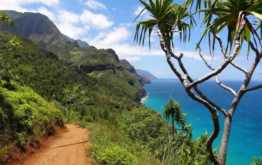 Napali Coast op Hawaii