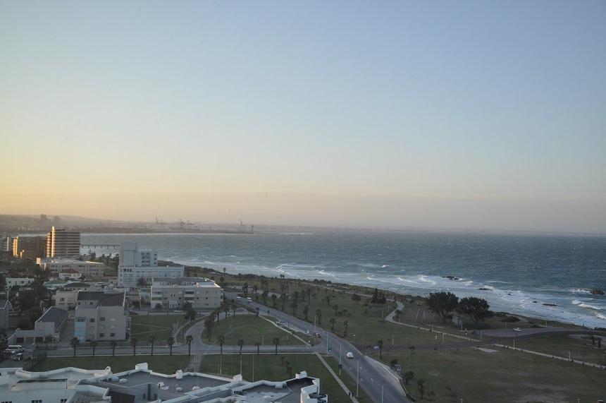 Port Elizabeth, uitzicht op de Indische Oceaan