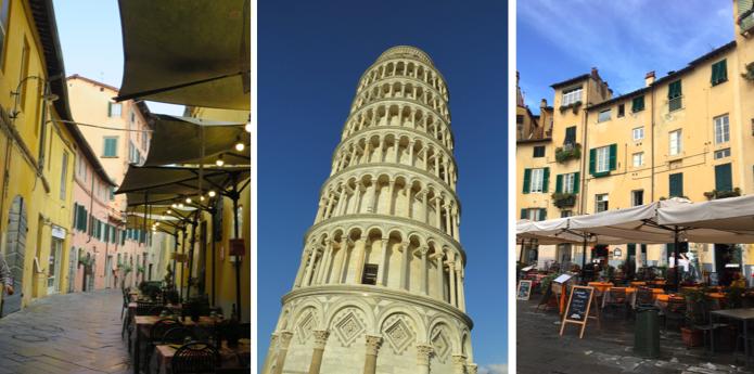 Pisa en Lucca